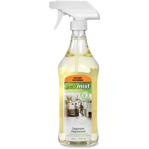 Eco Mist Solutions Degreaser - Liquid - 27.9 fl oz (0.9 quart) - 1 Each