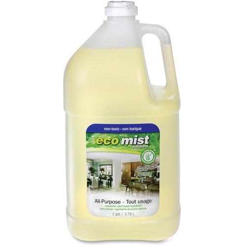 Eco Mist Solutions Multipurpose Cleaner - Liquid - 127.8 fl oz (4 quart) - 1 Each