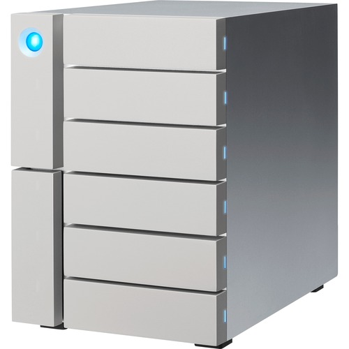 LaCie 6big STFK48000400 DAS Array | 6 x HDD Supported | 6 x HDD Installed | 48 TB Installed HDD Capacity
