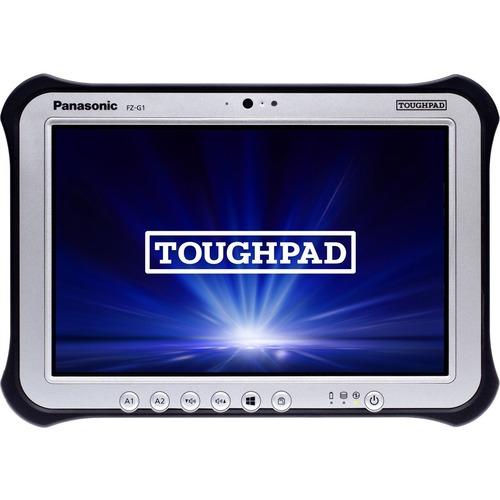 "Win10 Pro, vPro, Intel Core i5-6300U 2.40GHz, 10.1"" WUXGA 10-pt Gloved Multi Touch+Digitizer, 256GB SSD, 8GB, Intel WiFi a/b/g/n/ac, TPM 2.0, Bluetooth, Dual Pass (Ch1:WWAN/Ch2:GPS), 4G LTE Multi Carrier (EM7355), Webcam, 8MP Cam, 2D Bar LED (EA11), Rotating Hand Strap, Tall Corner Guards, Toughbook Preferred"
