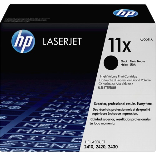 HP Q6511X Toner Cartridge - Black