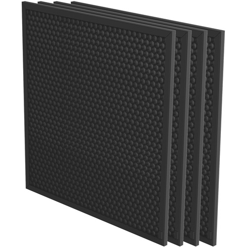 """Fellowes AeraMax Pro AM3 or AM4 Carbon 3/8"""" Filter w/ Pre-Filter - 4 Pack"""