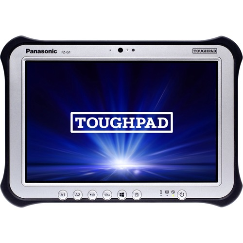 "Win10 Pro, vPro, Intel Core i5-6300U 2.40GHz, 10.1"" WUXGA 10-pt Gloved Multi Touch+Digitizer, 256GB SSD, 8GB, Intel WiFi a/b/g/n/ac, TPM 2.0, Bluetooth, Dual Pass (Ch1:WWAN/Ch2:GPS), Webcam, 8MP Cam, GPS, Long Life Battery, Rotating Hand Strap, Tall Corner Guards, Toughbook Preferred"