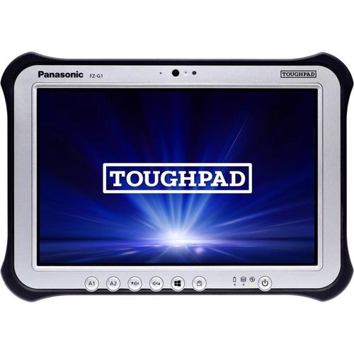 "Win10 Pro, vPro, Intel Core i5-6300U 2.40GHz, 10.1"" WUXGA 10-pt Gloved Multi Touch+Digitizer, 256GB SSD, 8GB, Intel WiFi a/b/g/n/ac, TPM 2.0, Bluetooth, Dual Pass (Ch1:WWAN/Ch2:GPS), Webcam, 8MP Cam, LAN, Long Life Battery, Rotating Hand Strap, Tall Corner Guards, Toughbook Preferred"