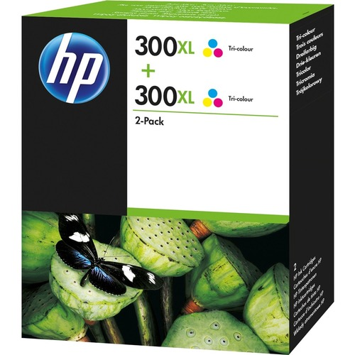 HP 300XL Ink Cartridge - Cyan, Magenta, Yellow