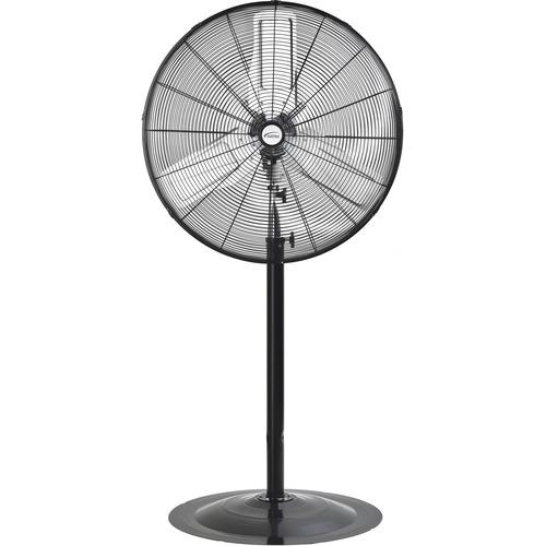 "Matrix Pedestal Fan - 30"" Diameter - 2 Speed - Adjustable Height, Oscillating - Metal"