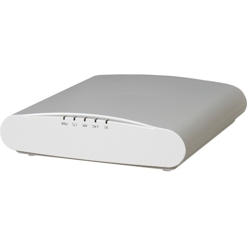 ZoneFlex R610 dual-band 802.11abgn/ac (802.11ac Wave 2) Wireless Access Point, 3x3:3 streams, MU-MIMO, BeamFlex+, dual ports, 802.3af/at PoE support.  Does not include power adapter or PoE injector. Includes Limited Lifetime Warranty.