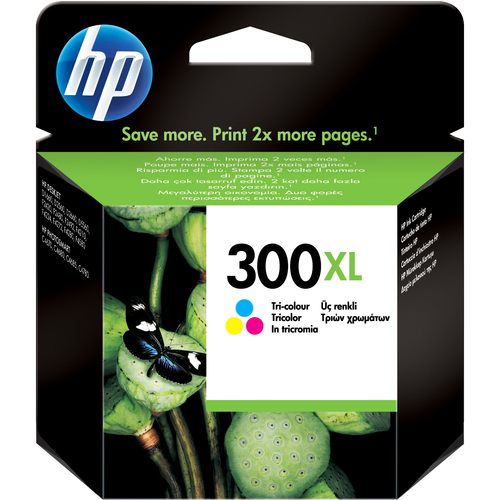 HP No. 300XL Ink Cartridge - Cyan, Magenta, Yellow
