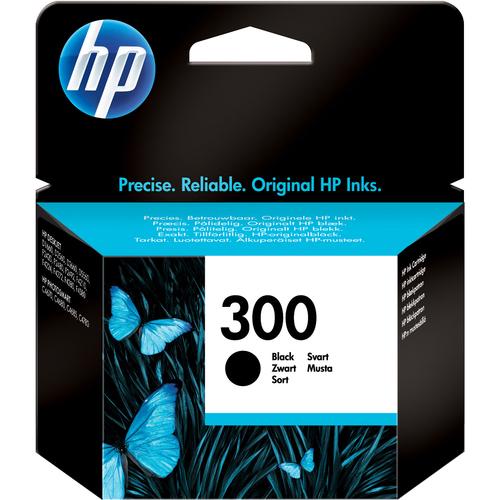 HP No. 300 Ink Cartridge - Black