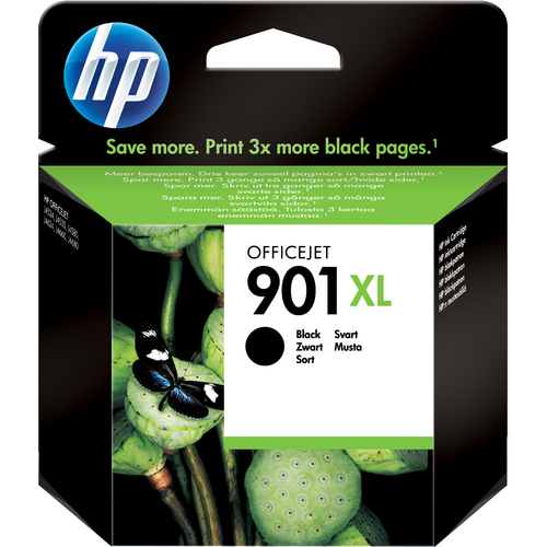 HP No. 901 Black Ink Cartridge, 700 pages