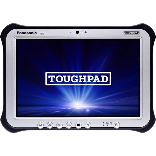 "Win10 Pro, vPro, Intel Core i5-6300U 2.40GHz, 10.1"" WUXGA 10-pt Gloved Multi Touch+Digitizer, 256GB SSD, 8GB, Intel WiFi a/b/g/n/ac, TPM 2.0, Bluetooth, Dual Pass (Ch1:WWAN/Ch2:GPS), Insertable Smartcard, Bridge Battery, Webcam, 8MP Cam, MicroSD, Rotating Hand Strap, Tall Corner Guards, No DVD Drive, Toughbook Preferred"
