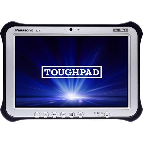 "Win10 Pro, vPro, Intel Core i5-6300U 2.40GHz, 10.1"" WUXGA 10-pt Gloved Multi Touch+Digitizer, 256GB SSD, 8GB, Intel WiFi a/b/g/n/ac, TPM 2.0, Bluetooth, Dual Pass (Ch1:WWAN/Ch2:GPS), Bridge Battery, Webcam, 8MP Cam, 2D Bar LED (EA11), Long Life Battery, Rotating Hand Strap, Tall Corner Guards, Toughbook Preferred"