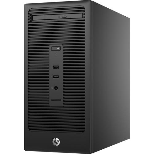 HP 285 G2 Desktop Computer - AMD A-Series A8 PRO-7600B 3.10 GHz - AMD Radeon R7 Graphics