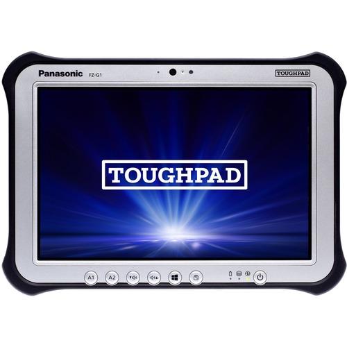 "Win10 Pro, vPro, Intel Core i5-6300U 2.40GHz, 10.1"" WUXGA 10-pt Gloved Multi Touch+Digitizer, 128GB SSD, 8GB, Intel WiFi a/b/g/n/ac, TPM, Bluetooth, Dual Pass (Ch1:WWAN/Ch2:GPS), Webcam, 8MP Cam, 2D Bar LED (EA11), Long Life Battery, Rotating Hand Strap, Tall Corner Guards, Toughbook Preferred"