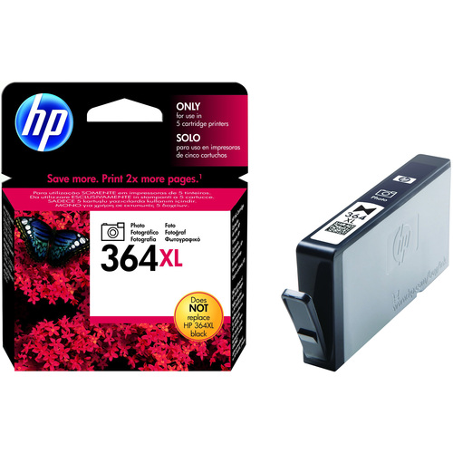 HP No. 364XL Photo Ink Cartridge - Black