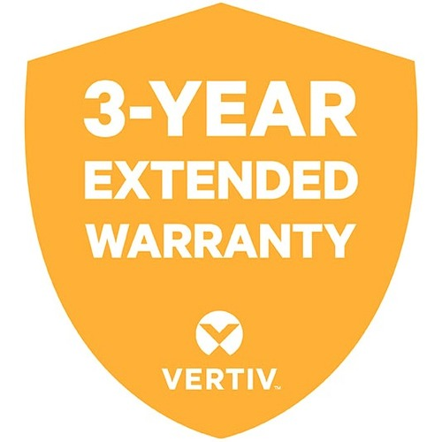 VERTIV Warranty/Support - 3 Year Extended Warranty - Warranty