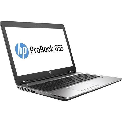 "HP ProBook 655 G3 15.6"" LCD Notebook | AMD A-Series Quad-core (4 Core) 2.40 GHz | 8 GB DDR4 SDRAM | 500 GB HDD | Windows 7 Professional 64-bit (English) upgradable to Windows 10 Pro | 1366 x 768"