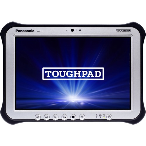"Win10 Pro, vPro, Intel Core i5-6300U 2.40GHz, 10.1"" WUXGA 10-pt Gloved Multi Touch+Digitizer, 256GB SSD, 8GB, Intel WiFi a/b/g/n/ac, TPM 2.0, Bluetooth, Dual Pass (Ch1:WWAN/Ch2:GPS), Bridge Battery, Webcam, 8MP Cam, 2D Bar Laser (EA21), Rotating Hand Strap, Tall Corner Guards, Toughbook Preferred"