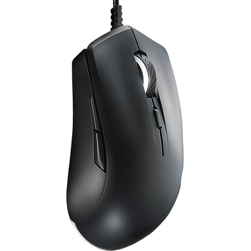 Cooler Master MasterMouse Lite S SGM-1006-KSOA1 Mouse - PixArt PAW3509 - Cable - 6 Buttons - Black