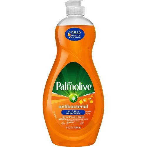 Palmolive Ultra Liquid Dish Soap - Antibacterial - 20 fl. oz. Bottle - Concentrate Liquid - 20 fl oz (0.6 quart) - 1 Each - Orange