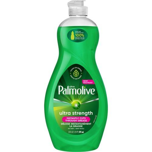Palmolive Ultra Dish Liquid - Ultra Strength Original - 20 fl. oz. Bottle - Concentrate Liquid - 20 fl oz (0.6 quart) - 1 Each - Green