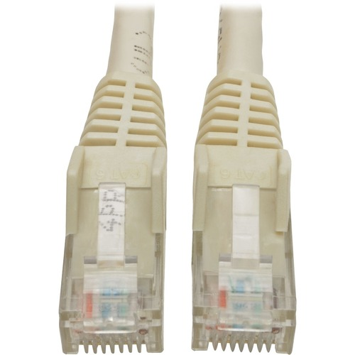 TRIPP LITE 6FT CAT6 WHITE SNAGLESS MOLDED RJ45 TO RJ45 PATCH CABLE UTP