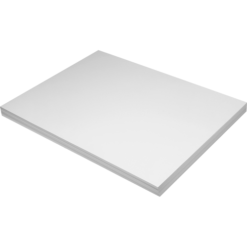"""Pacon Tagboard - Art Project, Craft Project - 24"""" (609.60 mm)Height x 18"""" (457.20 mm)Width - 100 / Pack - White"""