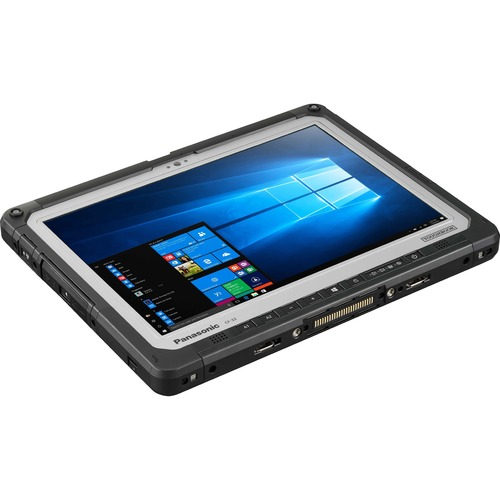 "Public Sector Specific, Win7 (Win10 Pro COA), Intel Core i5-6300U 2.40GHz, vPro, 12.0"" QHD Gloved Multi Touch+Digitizer, 8GB, 256GB SSD, Intel WiFi a/b/g/n/ac, TPM, Bluetooth,  Dual Pass (Ch1:WWAN/Ch2:WWAN-GPS), 4G LTE-Advanced Multi Carrier (EM7455), Webcam, 8MP Cam, Contactless SmartCard, 2D Bar Laser (N6603), Toughbook Preferred, 3 Year Public Sector Toughbook Service - Bundle C"