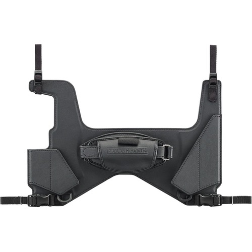 Rotating Hand Strap for CF-33.  Not compatible with 33 Vehicle Tablet Dock when using CF-33 with both Long Life Battery and Rotating Hand Strap.  Includes stylus pen holder and kickstand.