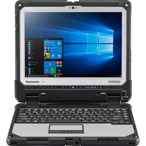 """CF-33, Win7 (Win10 Pro COA), Intel Core i5-6300U 2.40GHz, vPro, 12.0"""" QHD Gloved Multi Touch+Digitizer, 16GB, 512GB SSD, Intel WiFi a/b/g/n/ac, TPM, Bluetooth,  Dual Pass (Ch1:WWAN/Ch2:WWAN-GPS), 4G LTE-Advanced Multi Carrier (EM7455), Webcam, 8MP Cam, Contactless SmartCard, 2D Bar Laser (N6603), Toughbook Preferred, Bundle,  Includes Vehicle Dock Adapter (VDA) and Lite Keyboard (USB coiled cable"""