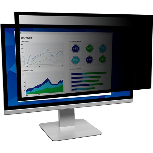 3M Black Privacy Screen Filter - For 48.3 cm 19inch LCD Widescreen Monitor