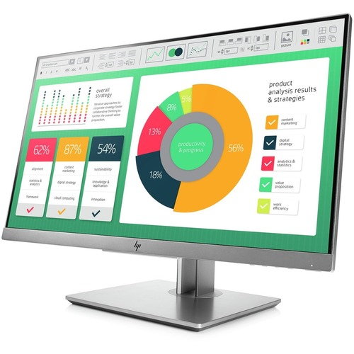 HP Business E223 54.6 cm 21.5inch LED LCD IPS Monitor - 16:9 - 5 ms - 1920 x 1080