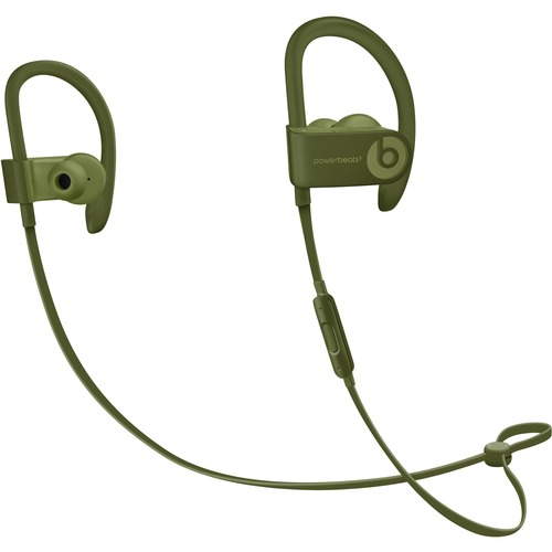 Beats by Dr. Dre Powerbeats3 Wireless Bluetooth Stereo Earset - Earbud, Over-the-ear, Behind-the-neck - In-ear - Turf Green