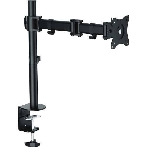 """Lorell Active Office Mounting Arm for Monitor - Black - 1 Display(s) Supported32"""" Screen Support - 1 Each"""
