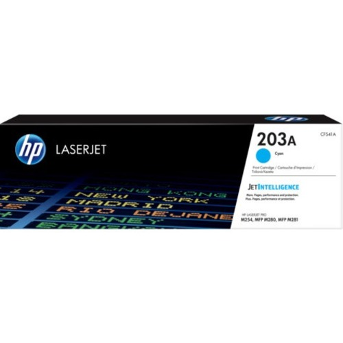 HP 203A Original Toner Cartridge - Cyan - Laser - 1300 Pages
