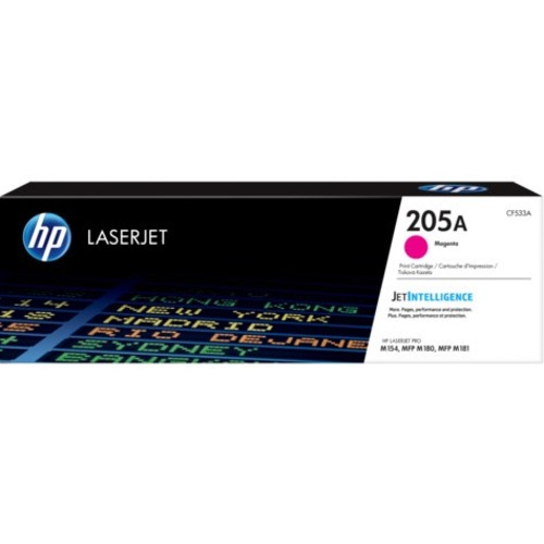 HP 205A Original Toner Cartridge - Magenta - Laser - 900 Pages