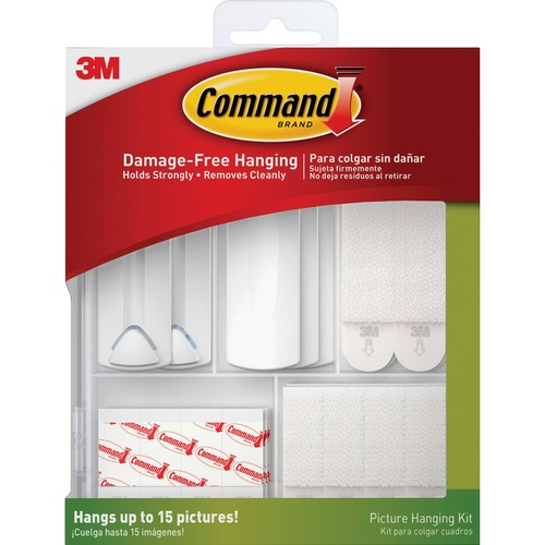 Command Picture Hanging Kit - White