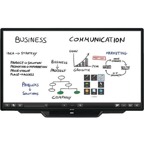 "Sharp AQUOS BOARD PN-L803CA 80"" LCD Touchscreen Monitor - 16:9"