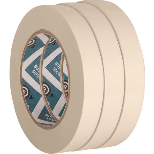 """4 Roll 1/"""" 60 YD General Purpose Paper Masking Tape Holding Bundling Sealing"""