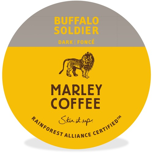 Mother Parkers Buffalo Soldier Dark-Roast Coffee OneCup