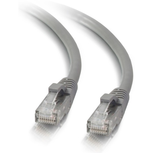 Cables To Go CAT5E Snagless Patch Cable (Grey) - 1 ft. (24814)