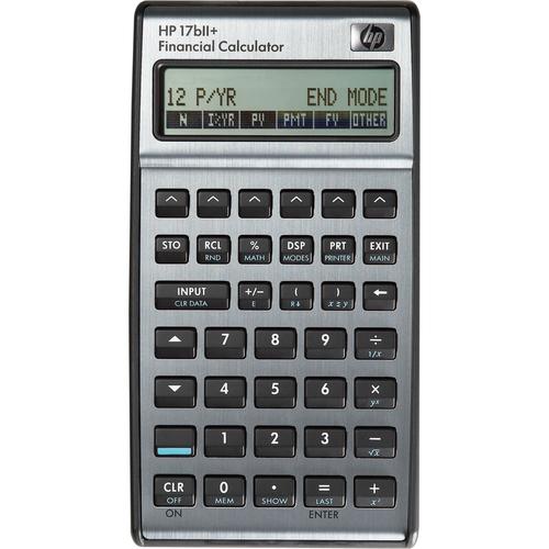 HP 17bII+ Financial Calculator