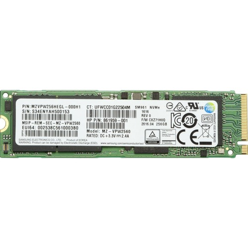 HP Z Turbo Drive 256 GB Solid State Drive - PCI Express - Internal - Plug-in Card