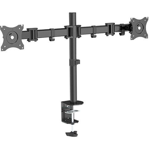 """Horizon ActivErgo AEB20 Mounting Arm for Monitor - Black Powder Coat - 2 Display(s) Supported27"""" Screen Support - 7.98 kg Load Capacity - 1 Each"""