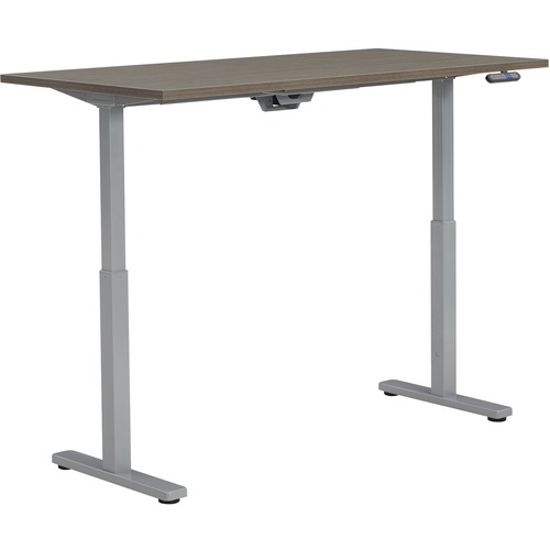 """Offices To Go Ionic MVL6030ET Table - 60"""" x 30"""" x 45.3"""" , 1"""" Top - Finish: Laminate Top, Absolute Acajou"""