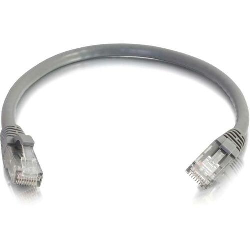14ft Cat6 Snagless Unshielded (UTP) Network Patch Cable (50pk) | Gray