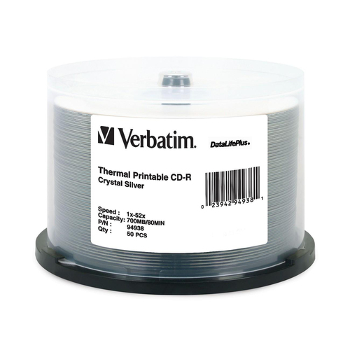 Verbatim DataLifePlus 52x CD-R Media | Printable