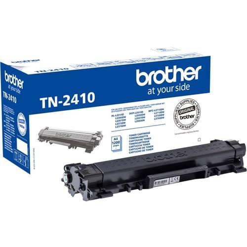 Brother TN-2410 Original Toner Cartridge - Black - Laser - 1200 Pages - 1 Pack