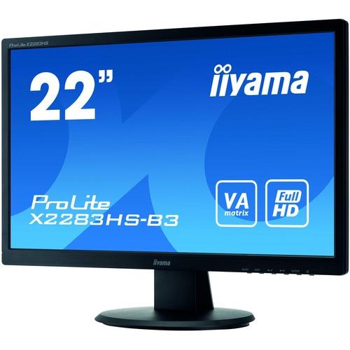 iiyama ProLite X2283HS-B3 21.5inch LED LCD Monitor - 16:9 - 4 ms