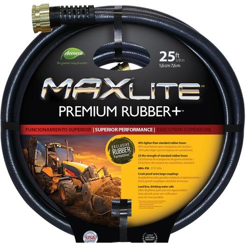 """SCN Swan MaxLite NJ413 Water Hose - 0.63"""" x 50 ft - Rubber, Brass"""